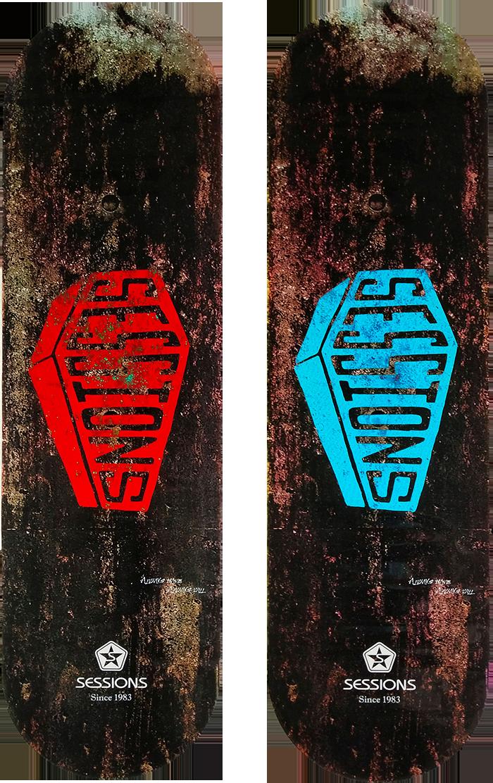 スケートボードCoffinの画像
