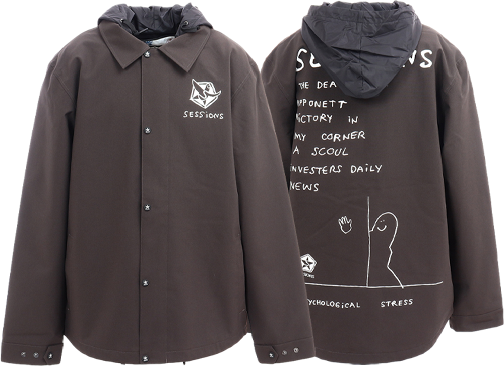 MARK GONZALES COLLABORATION ANGST JACKET画像