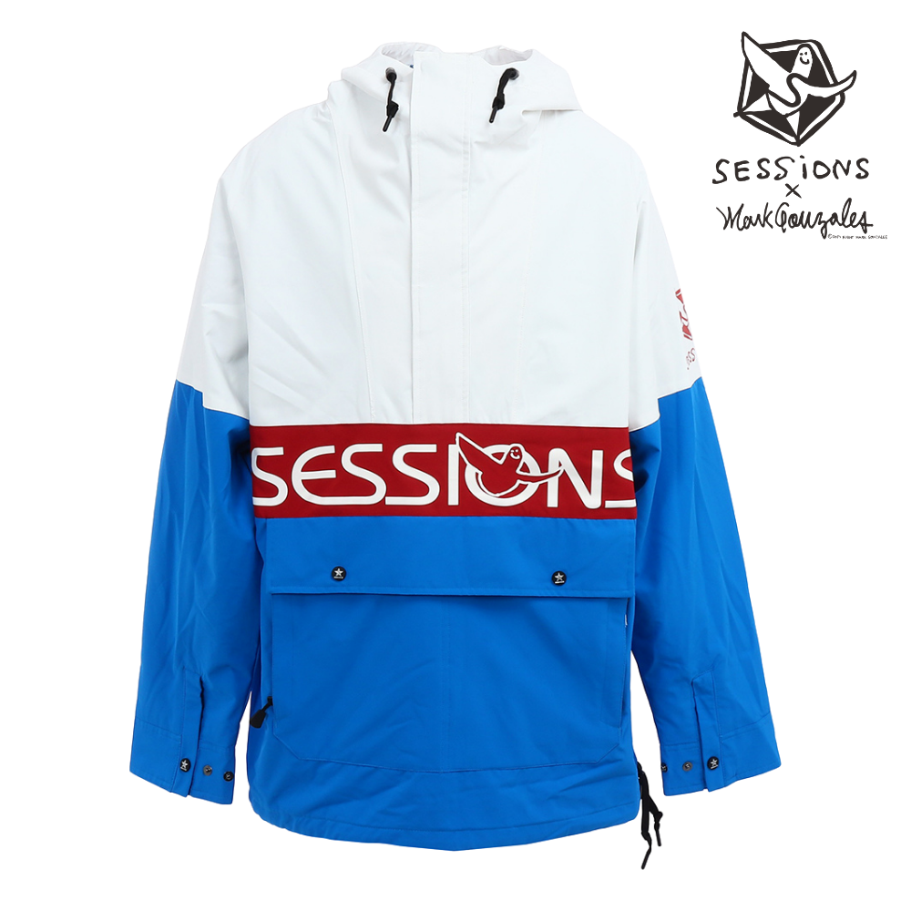 GONZ CLB CHAOS PULLOVER JACKET